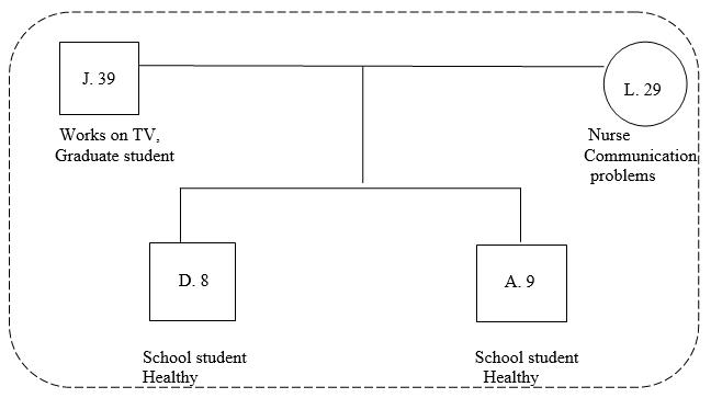 Fig. 1. Genogram